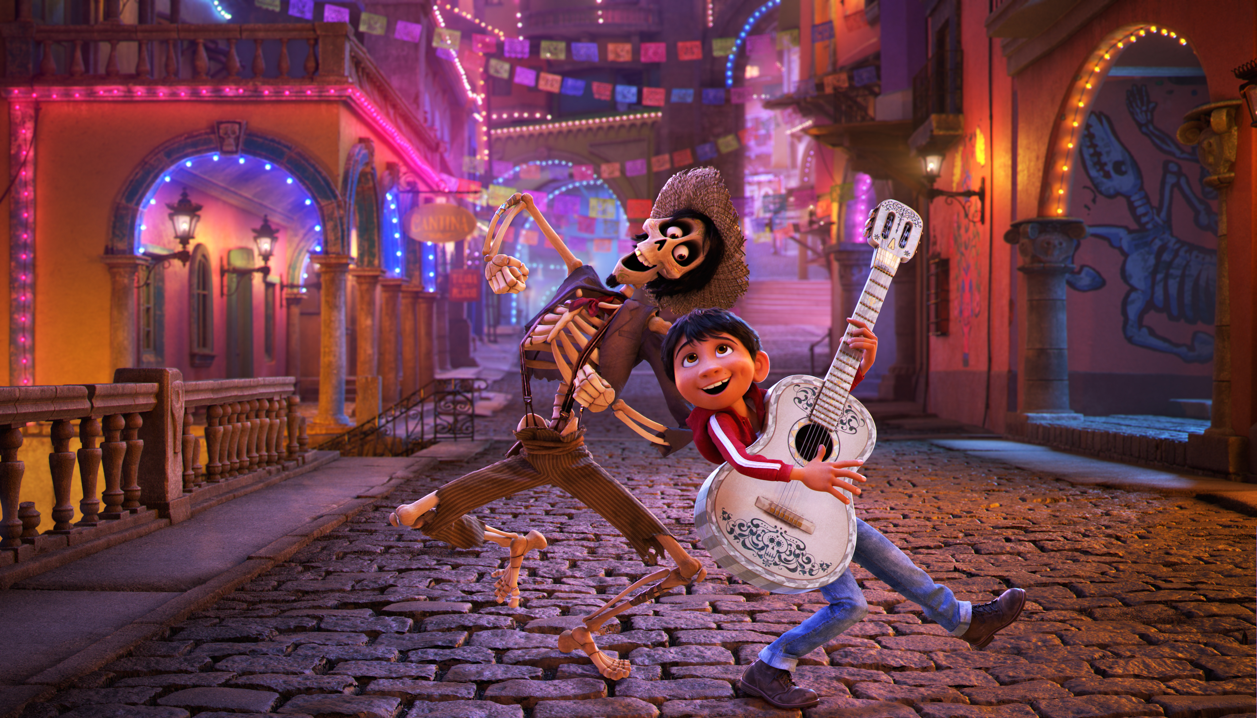 You'll love the music in the new Disney Pixar film Coco!