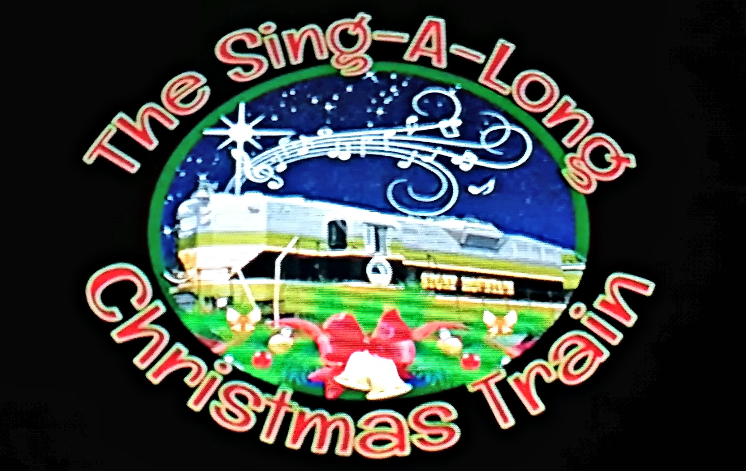 The Sing-a-long Christmas Train is family fun at Stone Mountain Christmas!