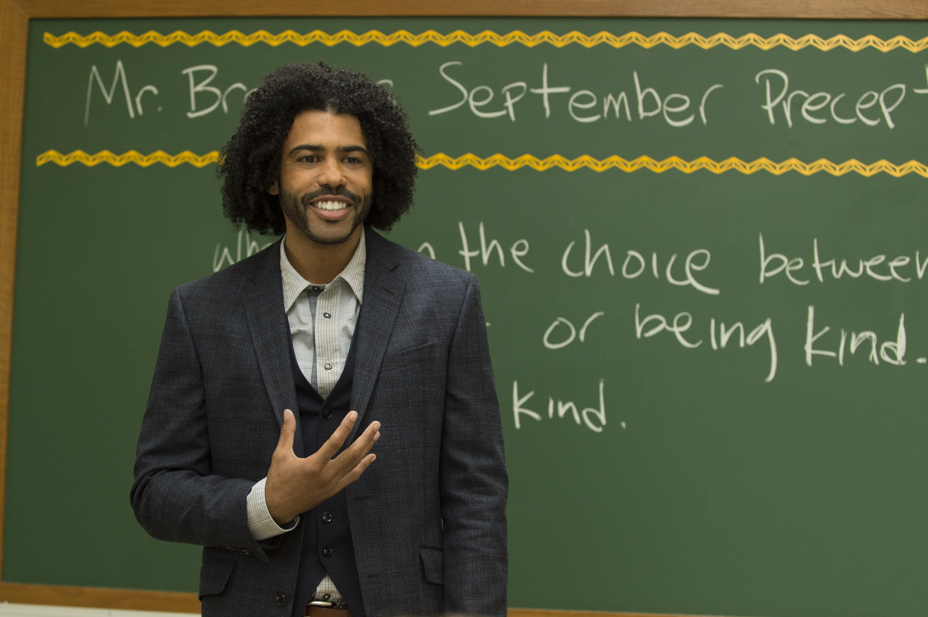 """An influential teacher in """"Wonder"""" encourages his class to Choose Kind over being right."""