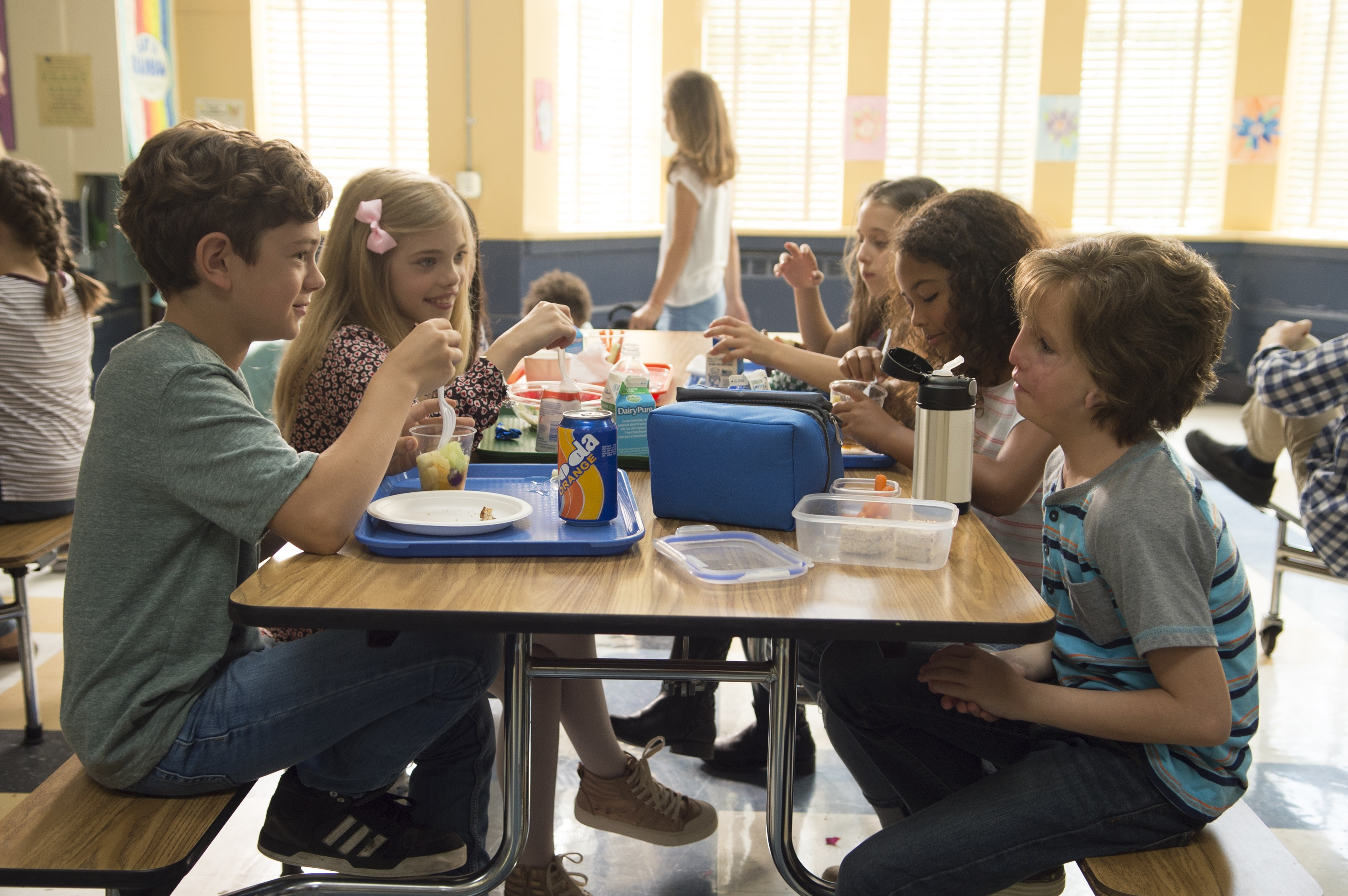 """Little by little, Auggie's classmates open up and choose to befriend him in """"Wonder""""."""