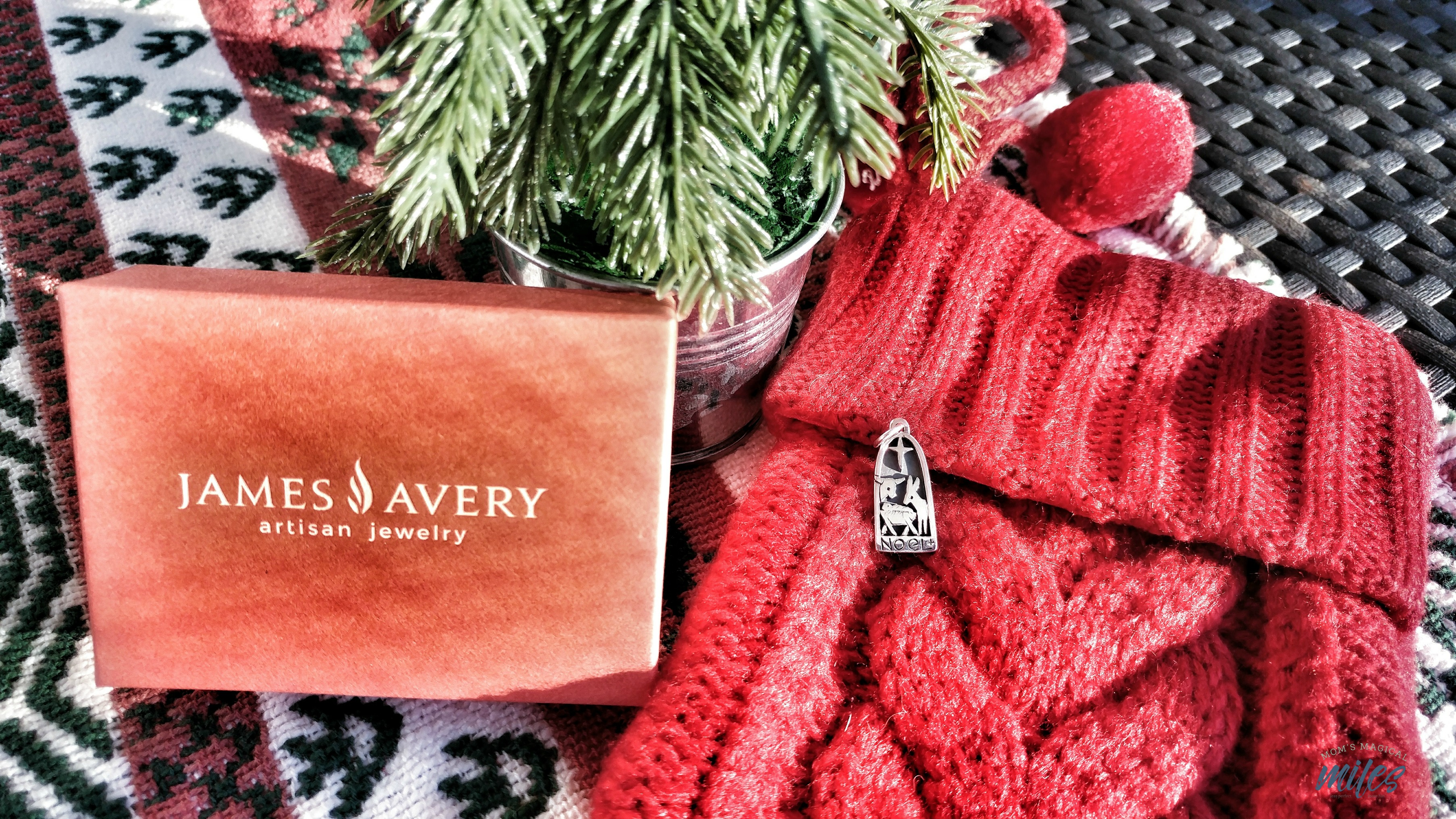 James Avery Artisan Jewelry has so many beautiful Christmas charms from which to choose! My favorite? The Noel Nativity charm.
