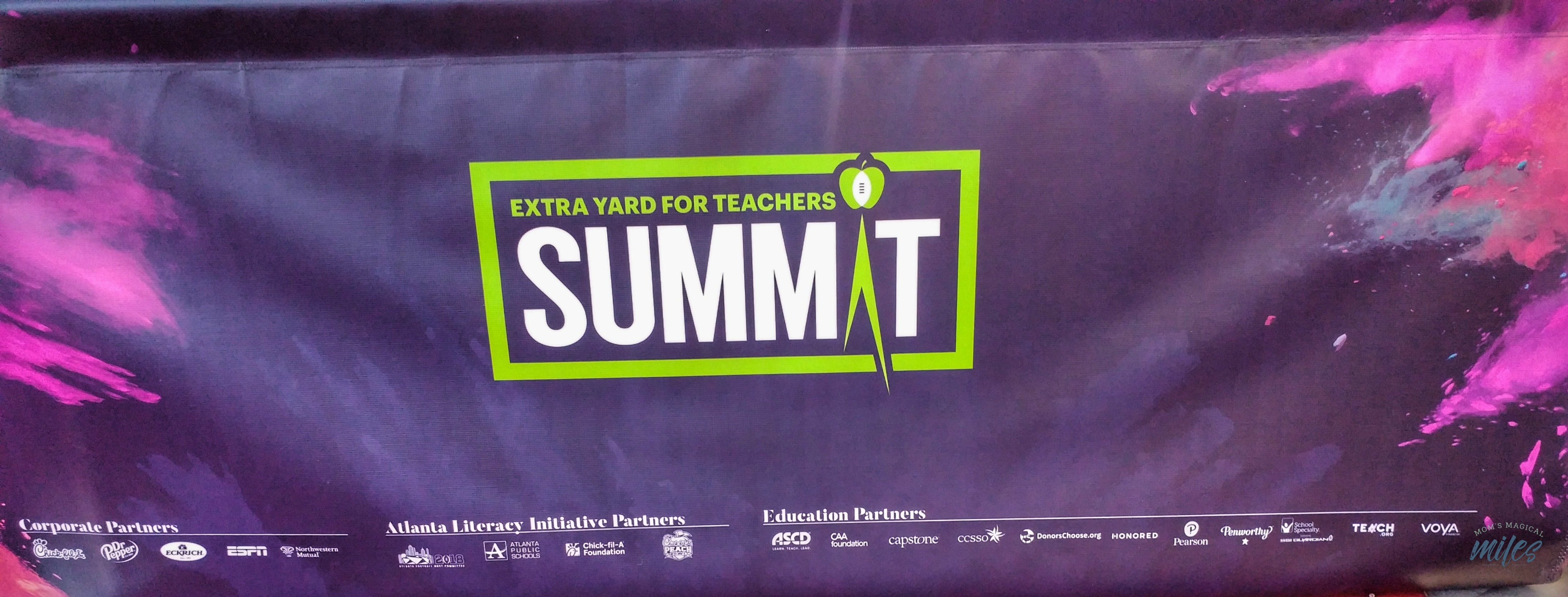 The Extra Yard for Teachers Summit is an uplifting celebration of our teacher heroes! The event is coordinated through the College Football Playoff Foundation.