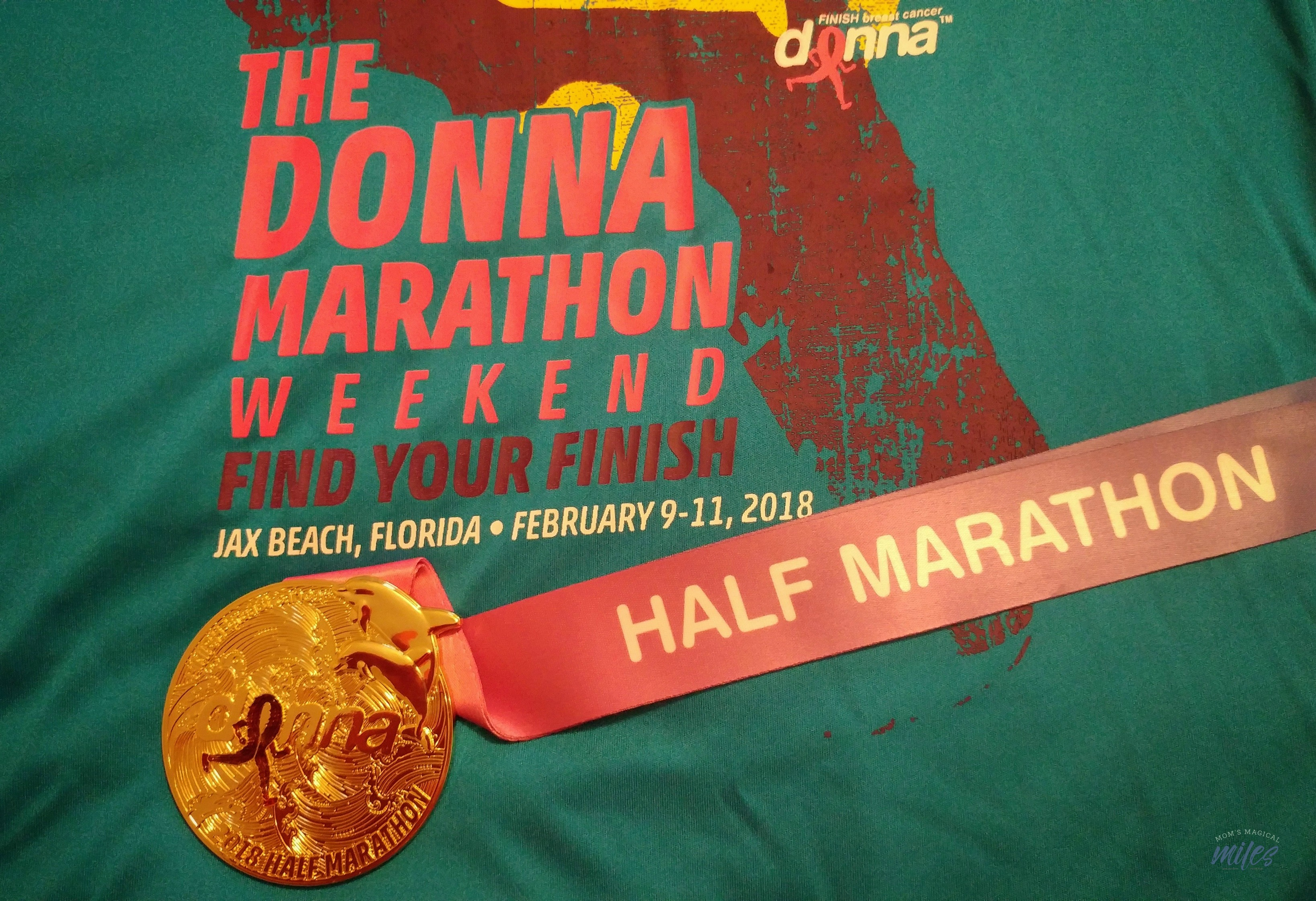 The Donna Half Marathon is a special event full of hope and promise!