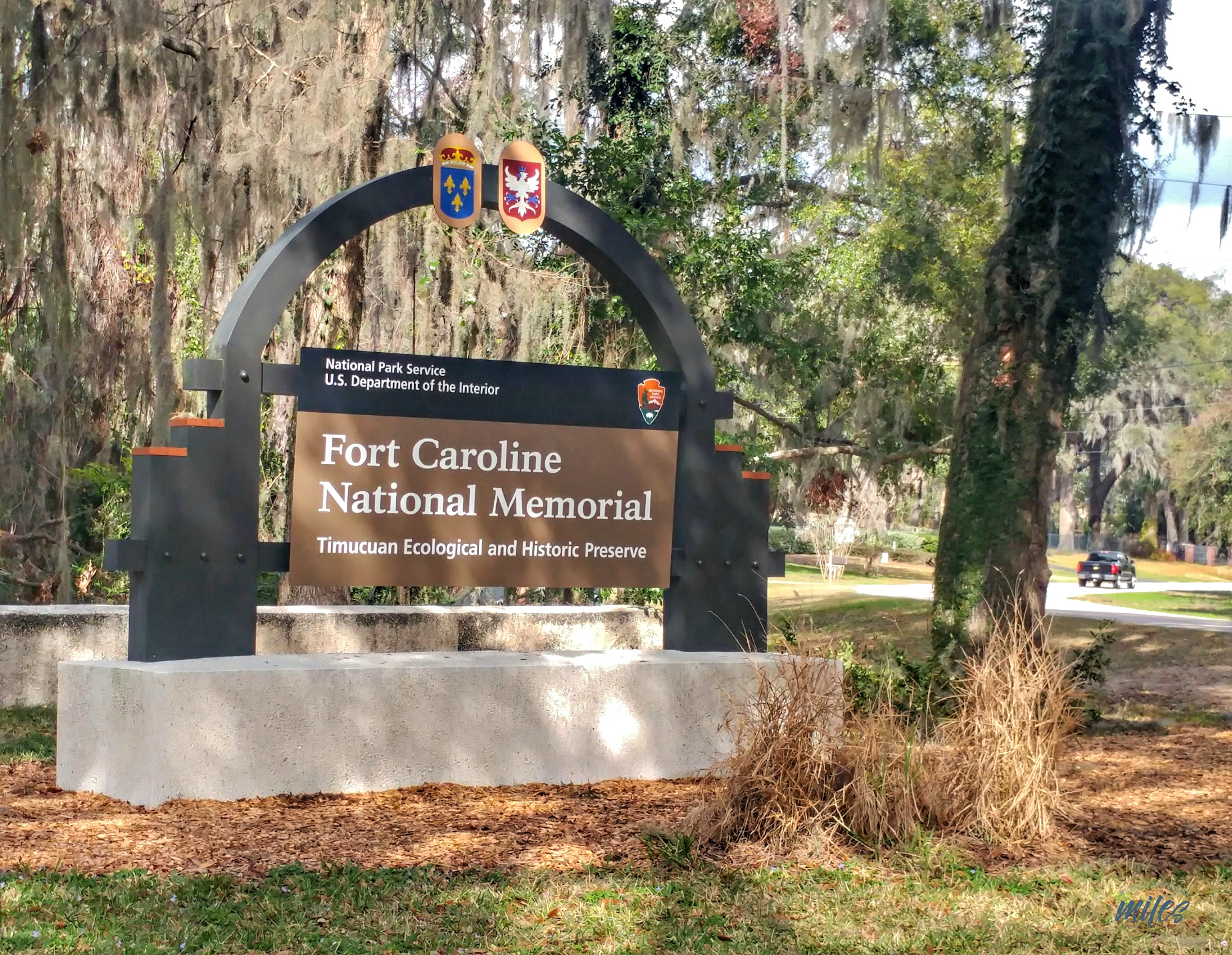Fort Caroline National Memorial is part of the Timucuan Ecological and Historical Preserve in Jacksonville, FL.