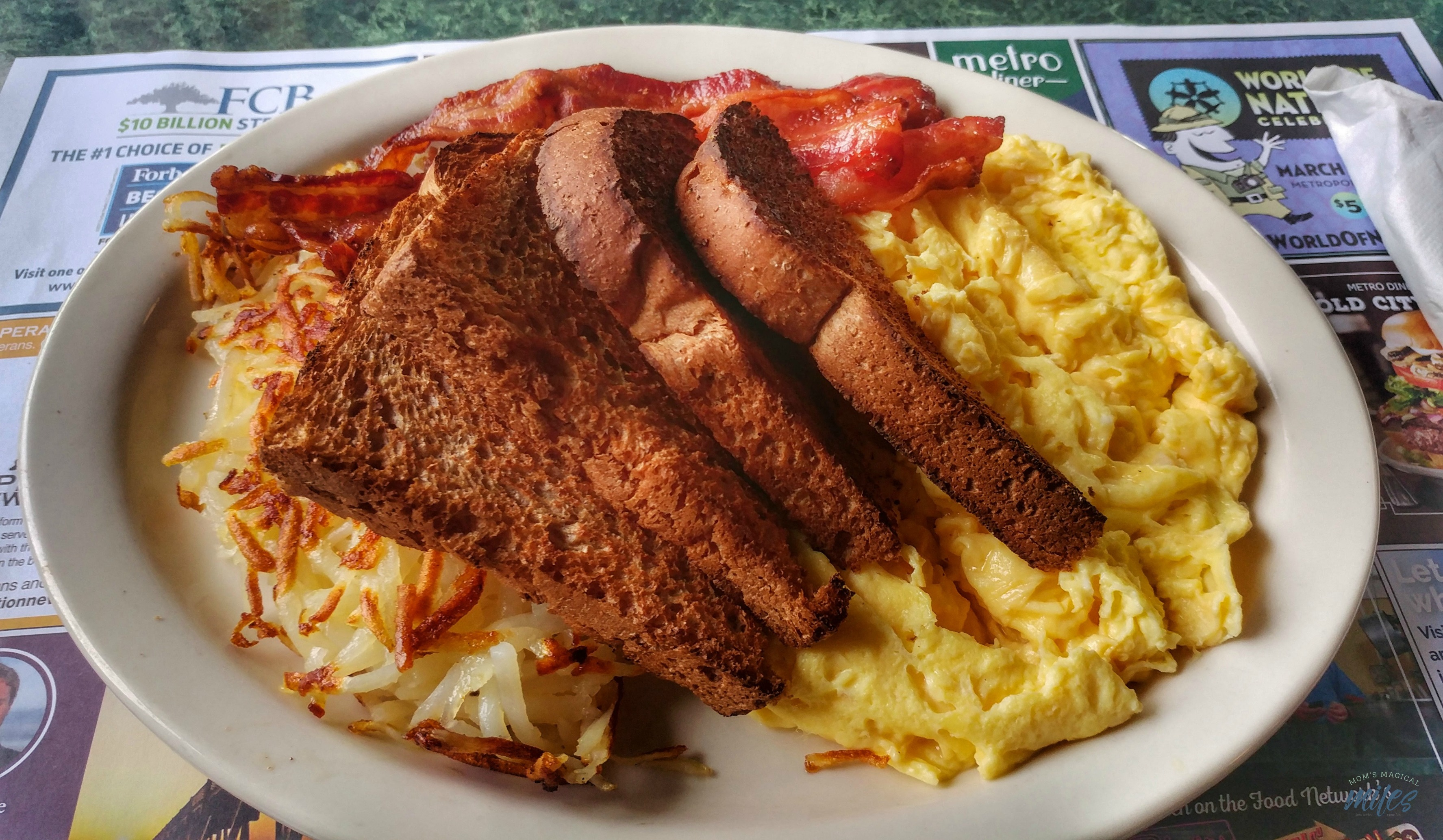 The Metro Diner in Jacksonville Beach, Fl is the perfect stop to fill hungry bellies!