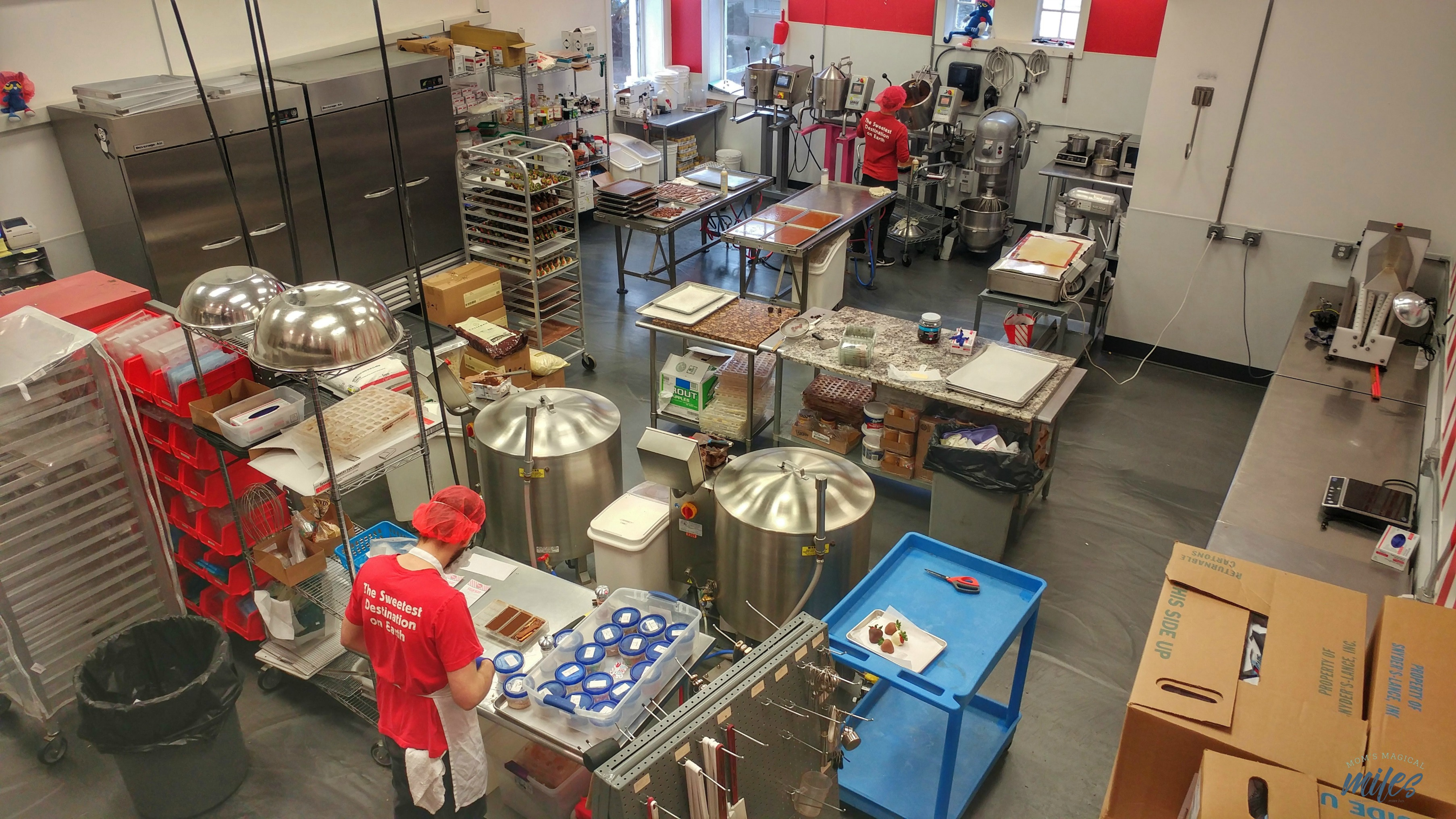 Take the $5 factory tour at Sweet Pete's in Jacksonville, Florida!