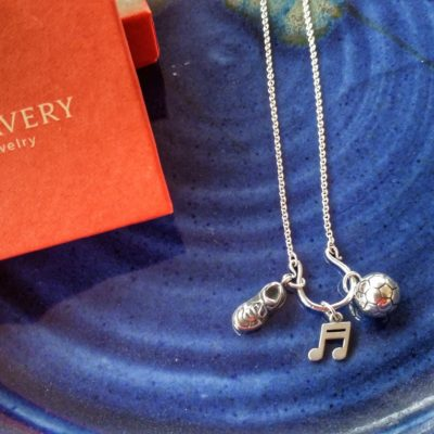 I wear my love story with this simple yet beautiful chain from James Avery Artisan Jewelry