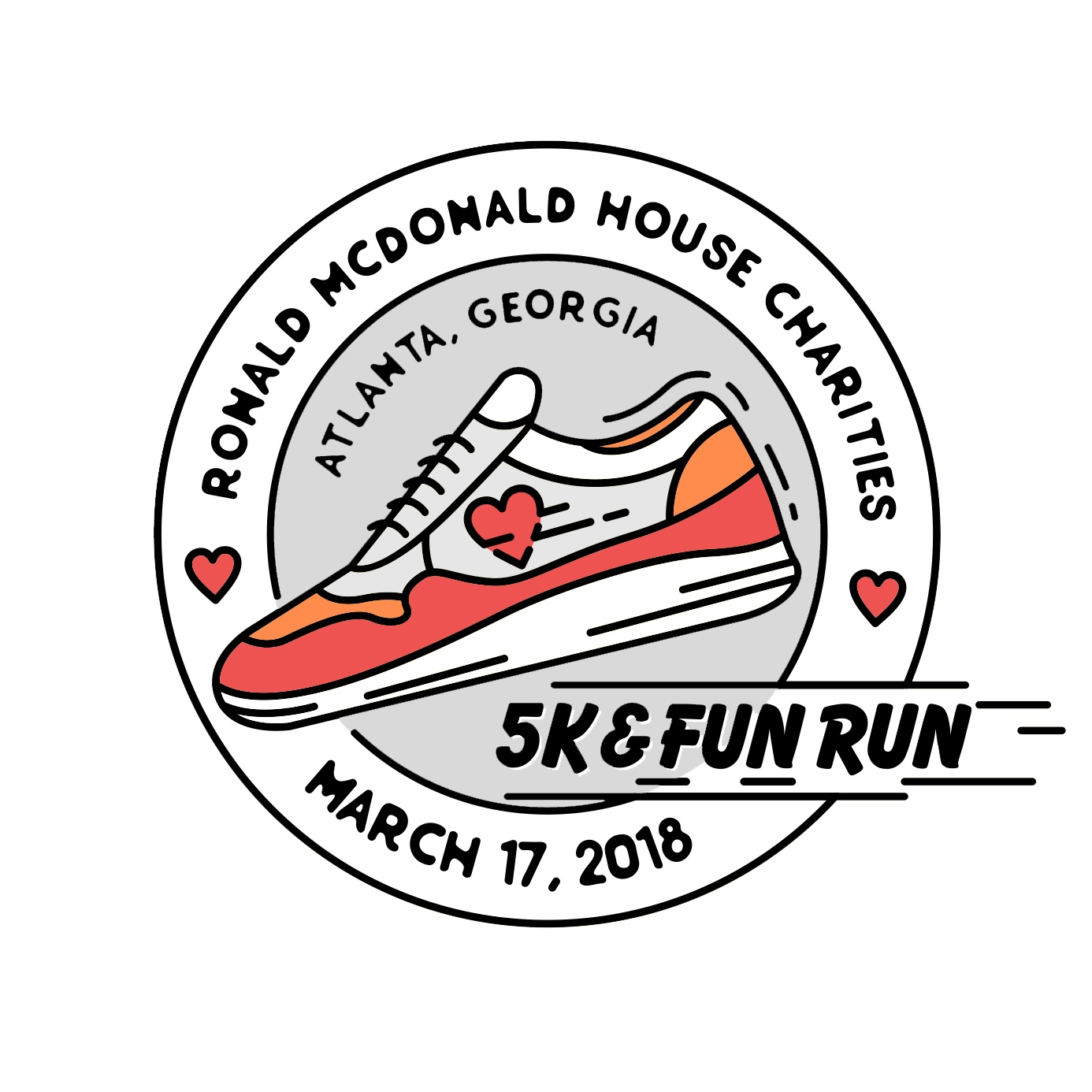 I'm excited to share the inaugural Ronald McDonald House 5K and Fun Run in Atlanta!