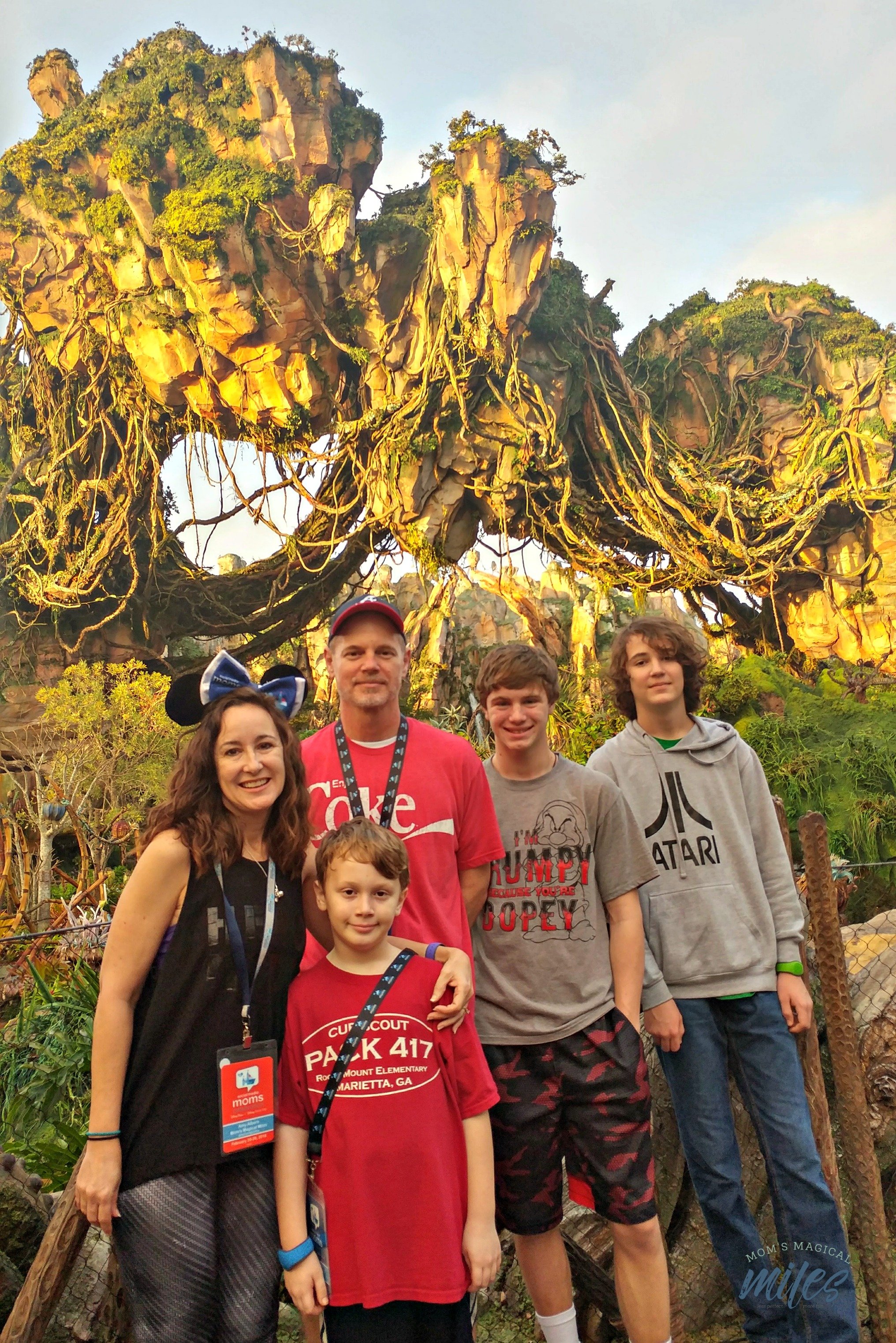 Family togetherness is awesome on a Disney Vacation. But it doesn't have to happen to have a great vacation.