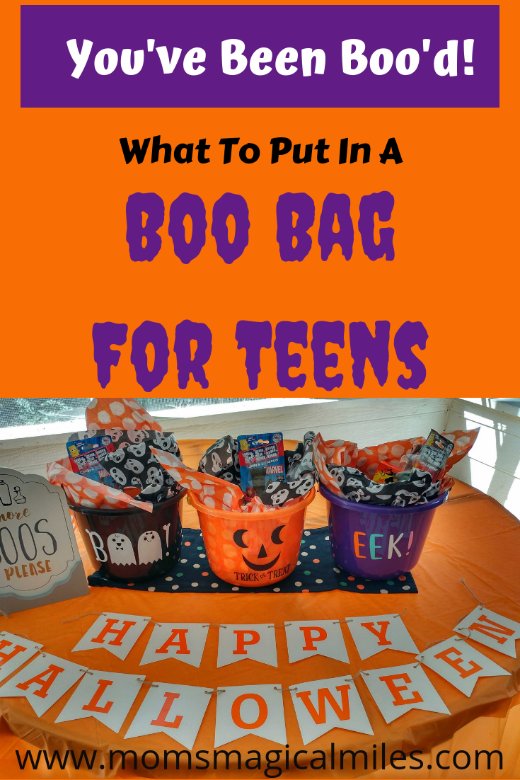 How To Create A Boo Bag For Teens Mom S Magical Miles