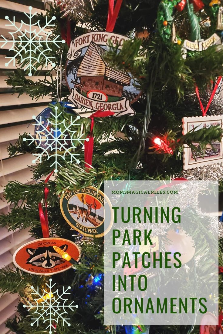 Georgia State Parks Christmas Day 2020 Turn Park Patches Into Ornaments: Christmas DIY | Mom's Magical Miles